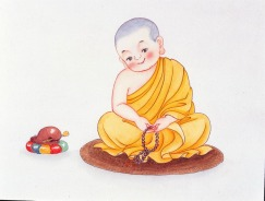Chú tiểu, chu tieu, monks, kid monks, young monks, child monks, cute monks, 和尚