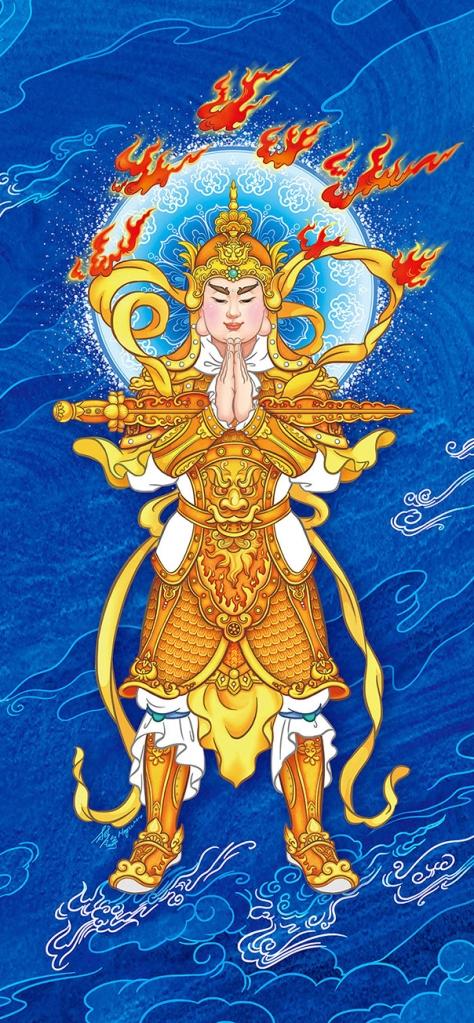 Hộ Pháp Vi Đà Tôn Thiên Bồ Tát